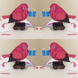 Atvirukas Nr. 31 Paukštis