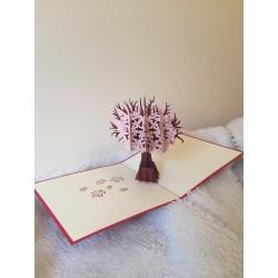 Atvirukas Nr. 41 Gėlių medis