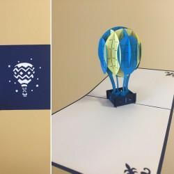 Atvirukas Nr. 45 Oro balionas
