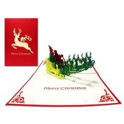 Kalėdinis Atvirukas ROGĖS